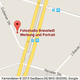 Das Fotostudio Breustedt, wenige Schritte von der Warschauer Straße entfernt
